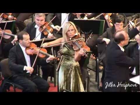 Jitka Hosprová playing Bohuslav Martinů Rhapsody Concerto