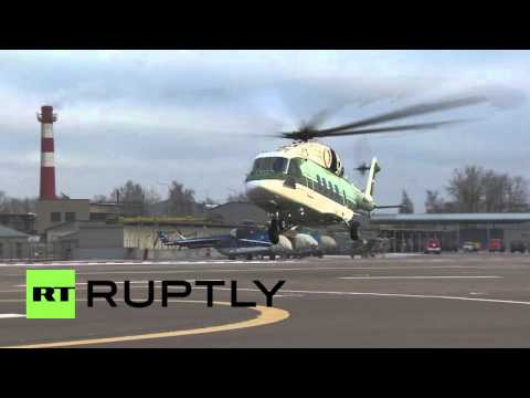 Russia: New Russian Mi-38 helicopter certified ahead of 2016 market launch