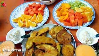 ഇന്നലത്തെ നോമ്പ്തുറ ഇങ്ങനെ ആയിരിന്നു | Salu Kitchen Simple Iftar Special
