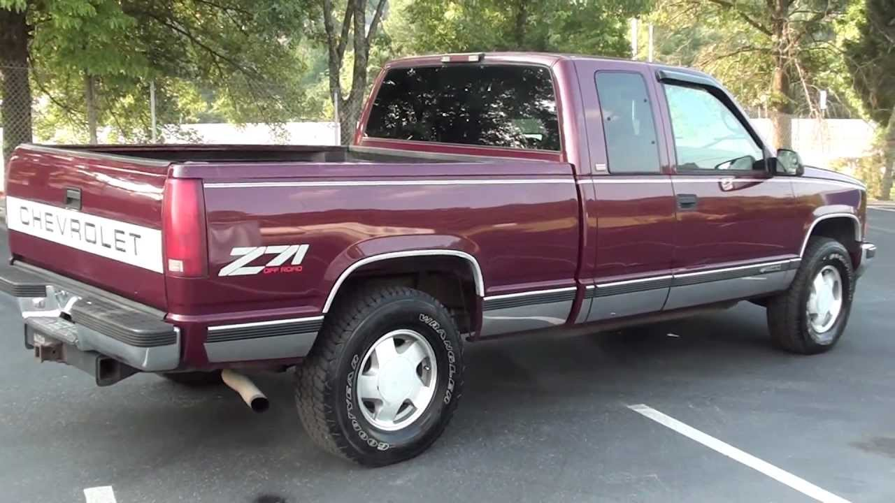 for sale 1996 chevrolet silverado z71 off road 1 owner stk p5743a www lcford com [ 1280 x 720 Pixel ]