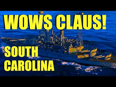 WOWS - South Carolina American Battleship | World of Warships with Claus