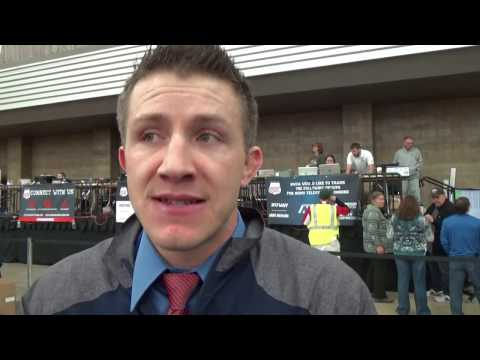 Josh Rhoden on Clackamas Community College's fourth straight National Duals title