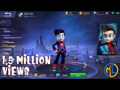 Mobile Legends : Ideas : Ejen Ali Of Agent I.R.I.S