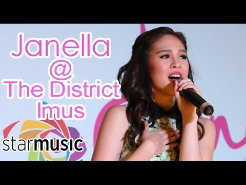 Janella Salvador - I Can (Live at The District Imus)