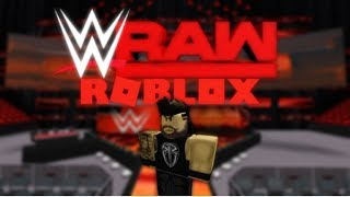 WWE RAW Live stream - ROBLOX Gameplay