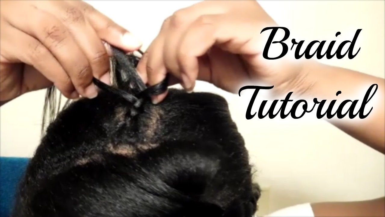 Cornrow Your Own Hair  Beginners Step By Step Tutorial
