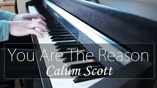 """you Are The Reason"" - Calum Scott - Np Music  Piano Cover"