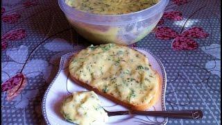 Плавленый Сыр с Чесноком и Укропом из Творога / Processed Cheese / Очень Простой Рецепт