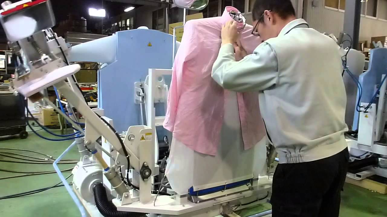 shirt ironing machine