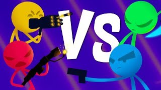 ULTIMATE TEAM BATTLE DOMINATION!  - Stick Fight Gameplay