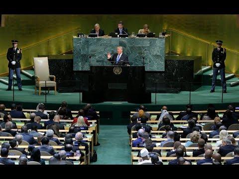 "Shifting sovereignty: Trump lashes out at ""regimes"" & socialism at UNGA"