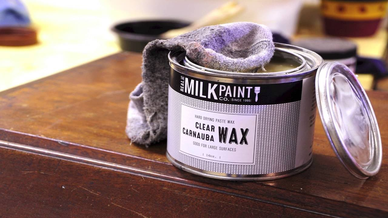 Carnauba Wax To Polish Furniture