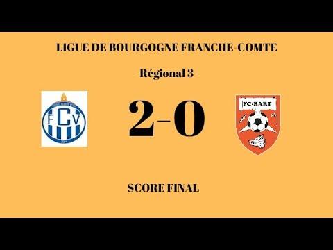 F.C.Vesoul - F.C. Bart (2-0) - Résumé