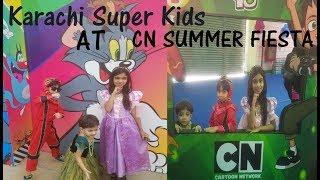Cartoon Network Summer Fiesta| Expo Center, Karachi| #karachi Super Kids#