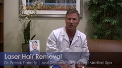 Dr. Flaharty Explains Laser Hair Removal