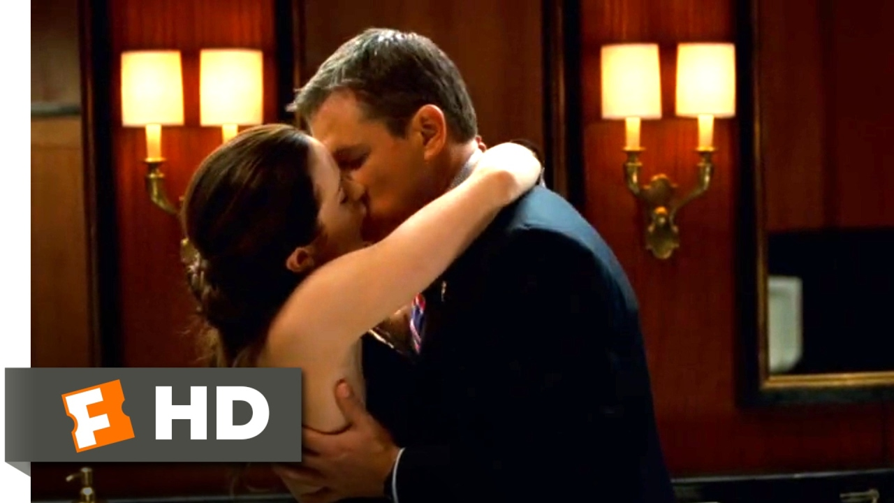 The Adjustment Bureau (2011) – Love In the Men's Room Scene (1/10) | Movieclips