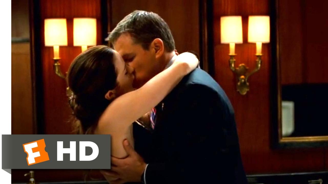 The Adjustment Bureau (2011)  Love In The Men's Room