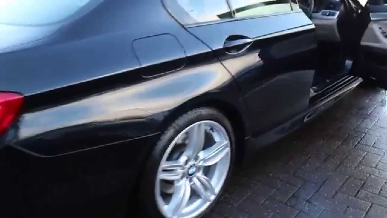 Bmw 520d M Sport Auto Finished In Carbon Black At Rix