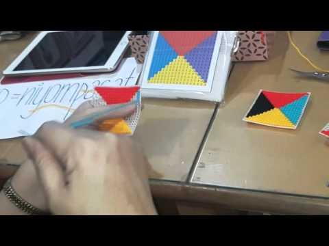 วิธีปักเฟรม 4 สี by muihandwork