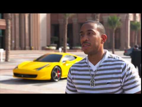 "Chris ""Ludacris"" Bridges is talking about his experience in Abu Dhabi"