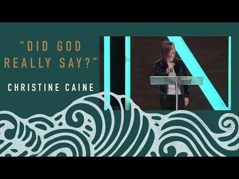 Christine Caine: Did God Really Say?