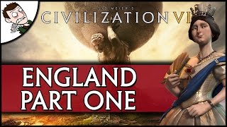 A NATION IS BORN! CIVILIZATION 6 - England Campaign - Part 1 (Preview Gameplay)