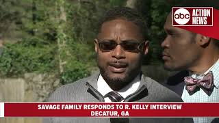 Jocelyn Savage's family holds press conference to address R. Kelly interview thumbnail