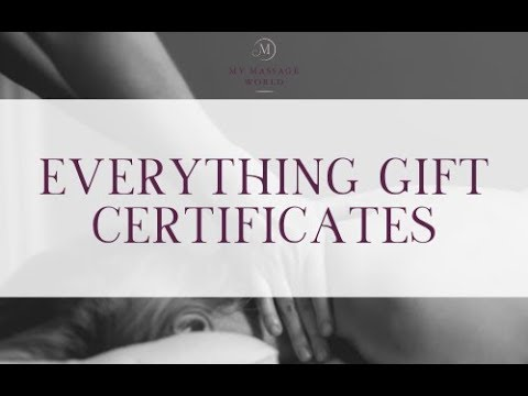 Everything Gift Certificates