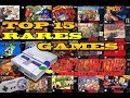 Top 15 Rares Super Nintendo Games | Most Expensive SNES Games