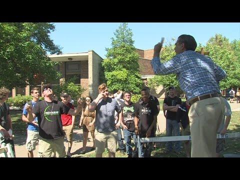 Preacher on Indiana State University