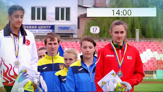 International Athletic Match U20, Ukraine, Lutsk 13.05