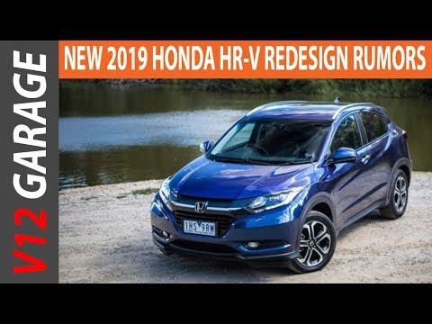 2019 Honda HR V Redesign Rumors and Specs