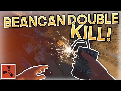 BEAN-CAN DOUBLE KILL! | Rust Gameplay