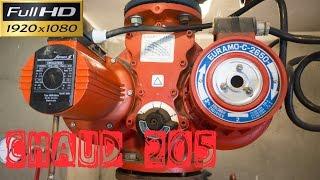 Chaud205-Remplacement d'un bloc moteur d'une pompe jumelée-moteur fonctionne en tri 400 ou 230