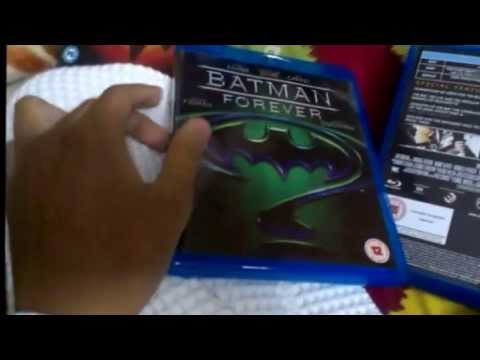 Batman Anthology Blu-Ray Unboxing [Region Free 1989-1997]