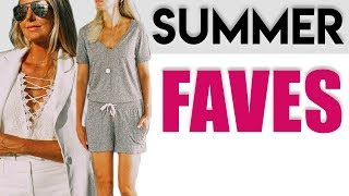 Summer Fashion Favorites!