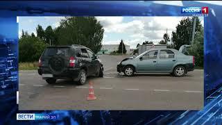 В Марий Эл за выходные произошло шесть ДТП с пострадавшими