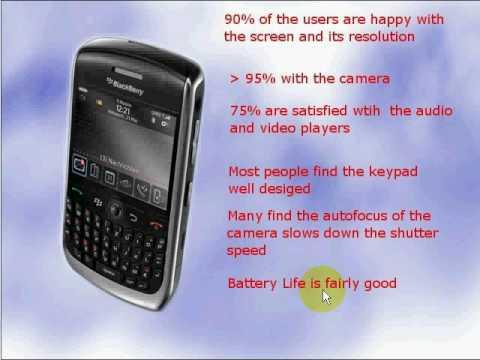 BlackBerry Curve 8900 Javelin Unlocked Cell Phone