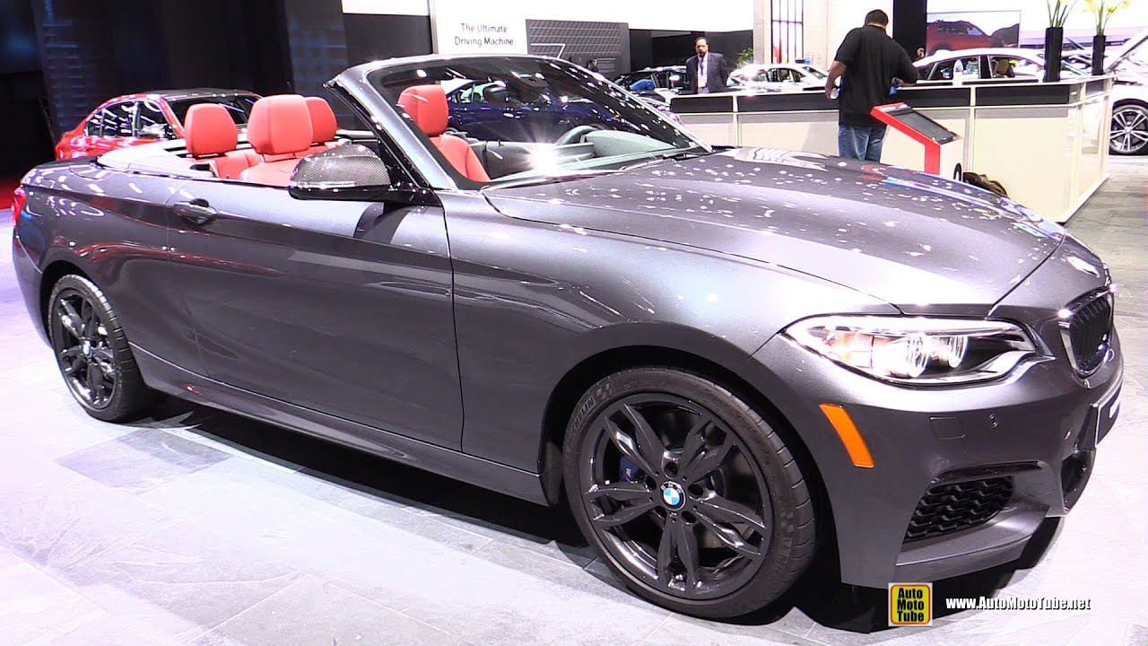 2016 Bmw M235i Xdrive Cabriolet Exterior And Interior Walkaround Detroit Auto Show