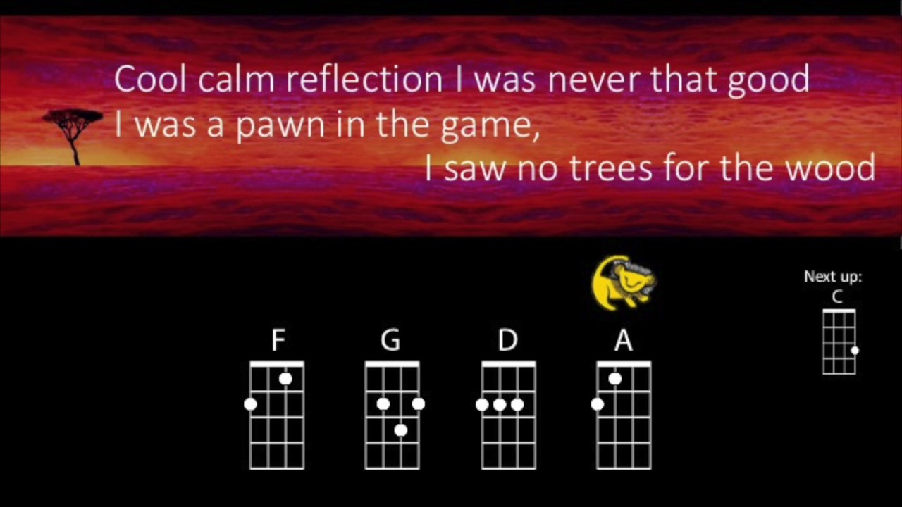 Hakuna matata ukulele play along youtube hakuna matata ukulele play along hexwebz Image collections