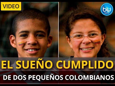 El sueño cumplido de dos pequeños colombianos   Blu Radio