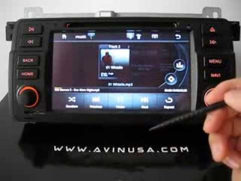 Avin Bmw E46 Full Android Gps Navigation System Youtube