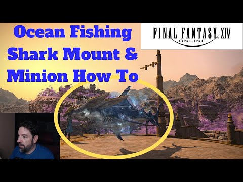 How To Get Shark Mount FF14 (Hybodus)