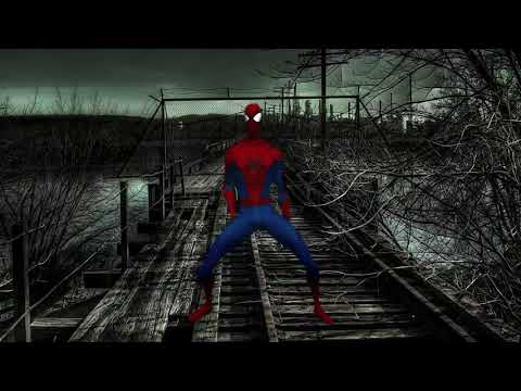 Spider-Man Dancing to Thriller on the Tracks - Funny Dance - CGI Fun - Marvel Comics - Homecoming