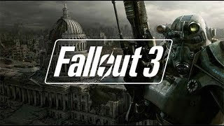 retro friday live stream - fallout 3 - part 4 gameplay