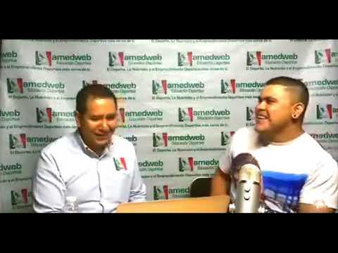 AMED - La visita de Oscar Rene Verdugo record y bicampeón