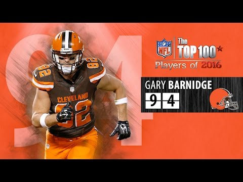 #94: Gary Barnidge (TE, Browns)   Top 100 NFL Players of 2016