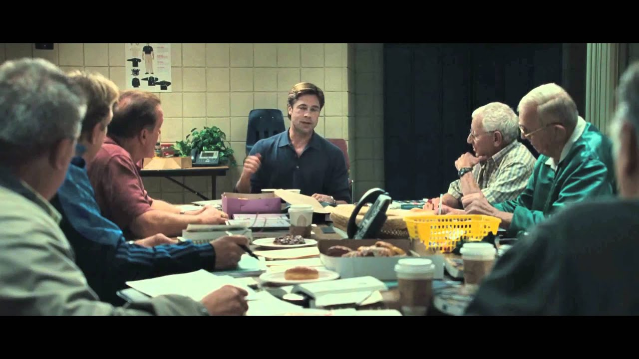 Photograph of scene in Moneyball