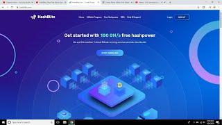 HashBlitz | New Free Bitcoin Mining Site 2020 | Zero Investment I Earn Daily 0.0002 Bitcoin