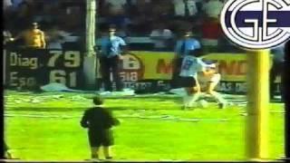 Gimnasia - Racing / Final Octogonal 1984 / ASCENSO GIMNASIA
